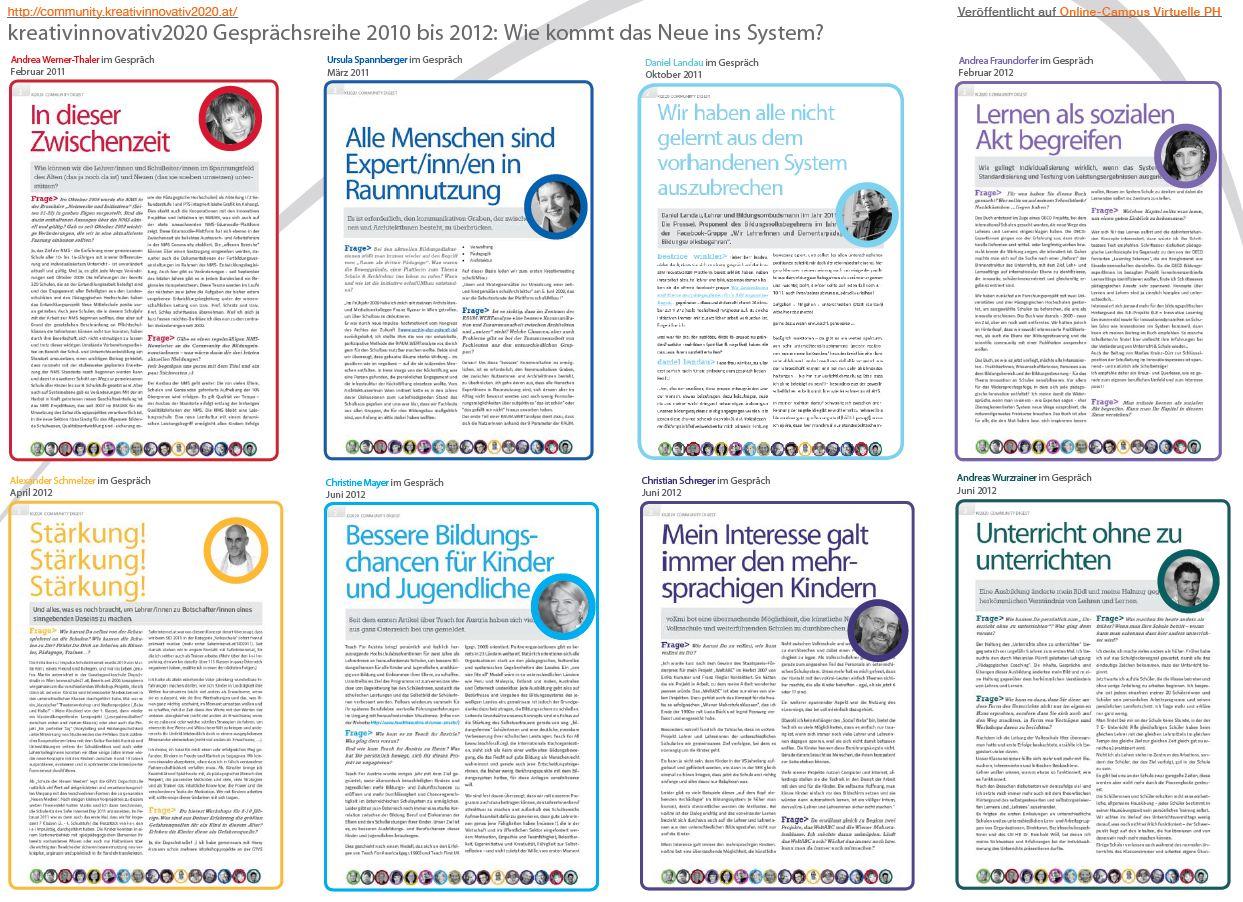 Screenshot Flyer Wie kommt das Neue ins System? 2