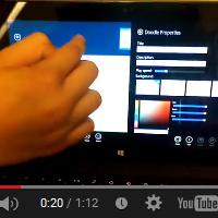 Tools auf dem Tablet