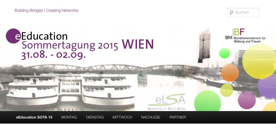eEducation Sommertagung 2015