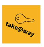 Einschreibeschlüssel für den Bereich: take@way